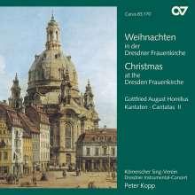 Gottfried August Homilius (1714-1785): Weihnachten in der Dresdner Frauenkirche (Advent- & Weihnachts-Kantaten), CD