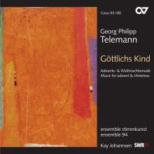 Georg Philipp Telemann (1681-1767): Advents- & Weihnachtskantaten, CD