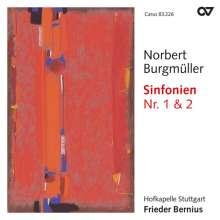 Norbert Burgmüller (1810-1836): Symphonien Nr.1 c-moll op.2 & Nr.2 D-Dur op.11, CD
