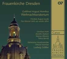 """Gottfried August Homilius (1714-1785): Weihnachtsoratorium """"Freude der Hirten über die Geburt Jesu"""", CD"""