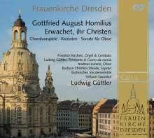 """Gottfried August Homilius (1714-1785): Choräle & Kantaten """"Erwachet ihr Christen"""", CD"""