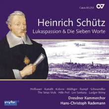 Heinrich Schütz (1585-1672): Lukaspassion SWV 480 (Carus Schütz-Edition Vol. 6), CD