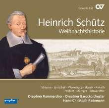 Heinrich Schütz (1585-1672): Weihnachtshistorie SWV 435 (Carus Schütz-Edition Vol.10), CD