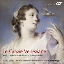 Le grazie veneziane - Musica degli Ospedali, CD