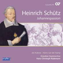 Heinrich Schütz (1585-1672): Johannespassion SWV 481 (Carus Schütz-Edition Vol.13), CD