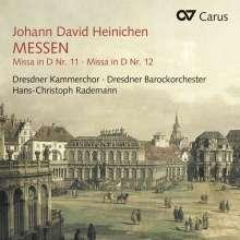 Johann David Heinichen (1683-1729): Messen Nr. 11 D-Dur & 12 D-Dur, CD