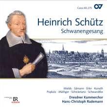 Heinrich Schütz (1585-1672): Schwanengesang SWV 482-494 (Carus Schütz-Edition Vol.16), CD