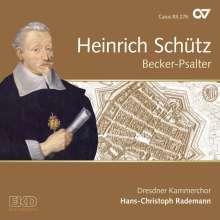 Heinrich Schütz (1585-1672): Becker-Psalter (Carus Schütz-Edition Vol.15), CD
