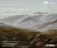 Franz Danzi (1763-1826): Der Berggeist (oder: Schicksal und Treue), CD