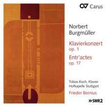 Norbert Burgmüller (1810-1836): Klavierkonzert op.1, CD