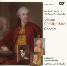 Johann Christian Bach (1735-1782): Flötenkonzert D-Dur (Warb C79), CD