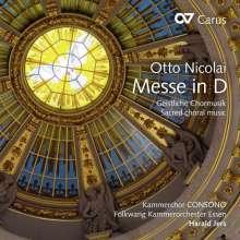 Otto Nicolai (1810-1849): Messe D-Dur, CD