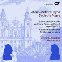 Michael Haydn (1737-1806): Deutsche Messe (Erstes Deutsches Hochamt), CD