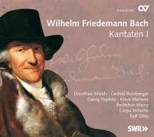 Wilhelm Friedemann Bach (1710-1784): Kantaten I, CD