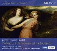 Georg Friedrich Händel (1685-1759): L'Allegro,Il Penseroso ed Il Moderato, 2 CDs