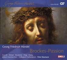 Georg Friedrich Händel (1685-1759): Passion nach Brockes HWV 48, 2 CDs