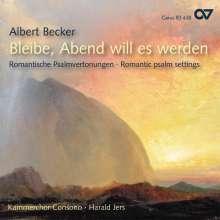 Albert Becker (1834-1899): Geistliche Chorwerke, CD