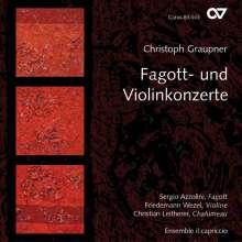 Christoph Graupner (1683-1760): Fagottkonzerte C-Dur,c-moll,G-Dur,B-Dur, CD