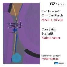 Johann Friedrich Fasch (1688-1758): Missa a 16 voci, CD