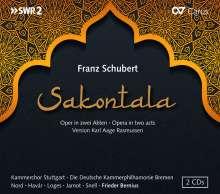Franz Schubert (1797-1828): Sakontala D.701, 2 CDs