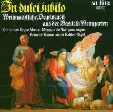 Weihnachtliche Orgelmusik in Weingarten, CD