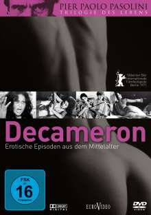 Decameron - Erotische Episoden aus dem Mittelalter, DVD