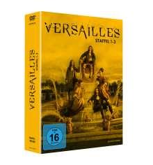 Versailles Staffel 1-3, 12 DVDs