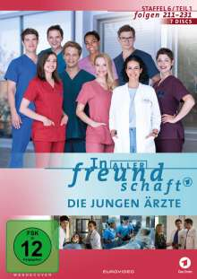 In aller Freundschaft - Die jungen Ärzte Staffel 6 (Folgen 211-231), 7 DVDs