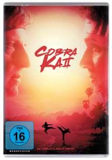 Cobra Kai Staffel 2, 2 DVDs