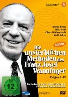 Die unsterblichen Methoden des Franz Josef Wanninger Teil 4, 2 DVDs