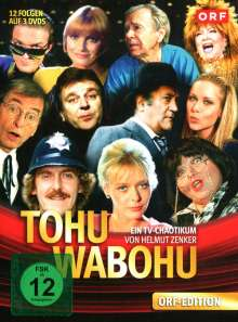 Tohuwabohu - Staffel 1-3/Folgen 01-12  [3 DVDs], DVD