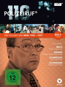 Polizeiruf 110 - MDR Box 2, 3 DVDs