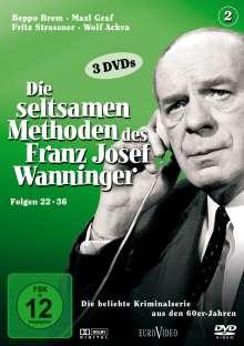 Die seltsamen Methoden des Franz Josef Wanninger Teil 2, 3 DVDs