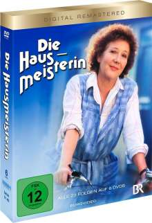 Die Hausmeisterin (Komplette Serie), 6 DVDs