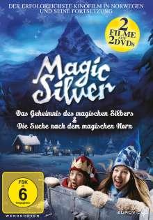 Magic Silver - Das Geheimnis des magischen Silbers / Die Suche nach dem magischen Horn, 2 DVDs
