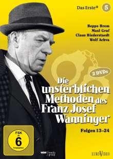 Die unsterblichen Methoden des Franz Josef Wanninger Teil 5, 2 DVDs