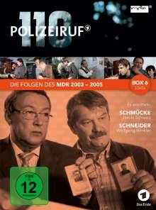 Polizeiruf 110 - MDR Box 6, 3 DVDs