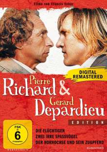 Pierre Richard & Gerard Depardieu Edition, 3 DVDs
