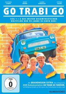 Go Trabi Go - Teil eens und zwee in eener Schachtel, 2 DVDs