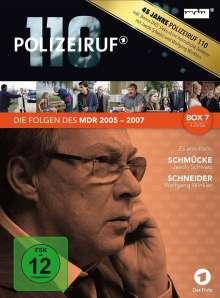 Polizeiruf 110 - MDR Box 7, 4 DVDs
