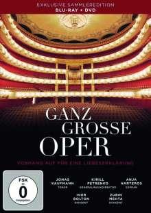 Ganz grosse Oper - Vorhang auf für eine Liebeserklärung (Blu-ray & DVD), 1 Blu-ray Disc und 1 DVD