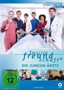 In aller Freundschaft - Die jungen Ärzte Staffel 3 (Folgen 106-126), 7 DVDs
