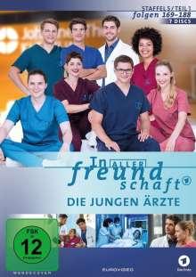 In aller Freundschaft - Die jungen Ärzte Staffel 5 (Folgen 169-188), 7 DVDs