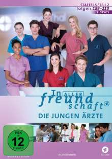 In aller Freundschaft - Die jungen Ärzte Staffel 5 (Folgen 189-210), 7 DVDs