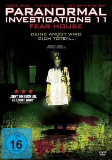 Paranormal Investigations 11: Fear House, DVD