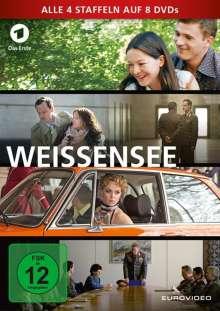 Weissensee Staffel 1-4, 8 DVDs