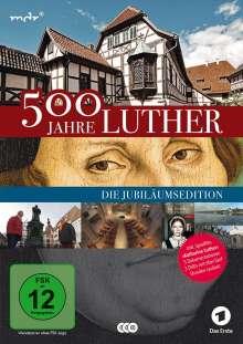500 Jahre Luther - Auf den Spuren des Reformators, 3 DVDs