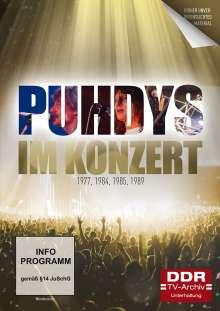 Im Konzert: Puhdys 1977, 1984, 1985, 1989, 2 DVDs
