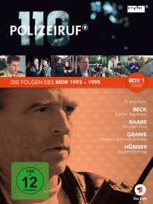 Polizeiruf 110 - MDR Box 1, 3 DVDs