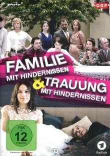 Familie mit Hindernissen / Trauung mit Hindernissen, 2 DVDs